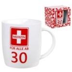 Tasse Medizin ab 30 Kaffebecher 30 Jahre Geburtstag Erste Hilfe