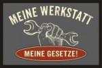 Fußmatte MEINE WERKSTATT