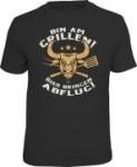 Fun Shirt BIN AM GRILLEN Bulle T-Shirt Spruch witzig Geschenk (Größe:: XL (52/54))
