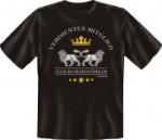 Fun Shirt VERDIENTES MITGLIED Club der Ruheständler T-Shirt (Größe:: S (42/44))