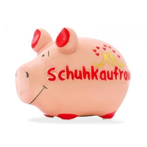 Sparschwein Schuhkaufrausch Spardose Geld Geschenk