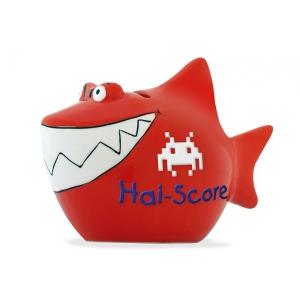 Sparschwein Hai Score Spardose Sparbüchse