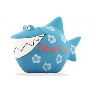 Sparschwein HawHaii Spardose Urlaub Hai Sparbüchse