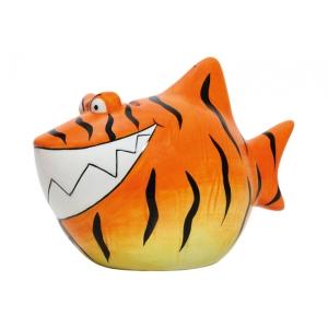 Sparschwein Tiger Hai Spardose Sparbüchse