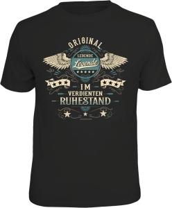T-Shirt LEBENDE LEGENDE IM RUHESTAND (Größe:: XXL (56))