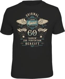 T-Shirt LEBENDE LEGENDE  seit über 60 Jahren (Größe:: XL (52/54))