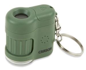 Carson MM-280 Mini Mikroskop mit Schlüsselanhänger grün