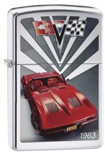Zippo Feuerzeug 60003534 CORVETTE 1963