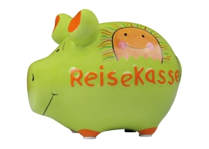 Sparschwein Reisekasse Spardose Sparbüchse