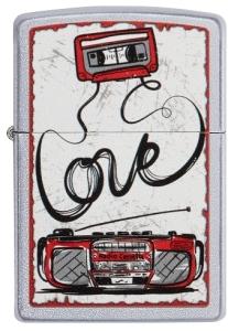 Zippo Feuerzeug 60004943 Love Tape