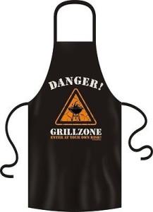 Grillschürze DANGER GRILLZONE