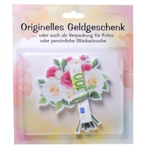 Geldgeschenk Blumenstrauß Geschenkverpackung Geburtstag Geld