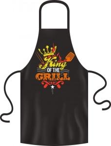 Schürze Grillschürze: King of the Grill
