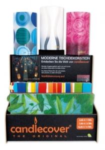 Candlecover Display 200x gemischte Motive Kerzenhüllen