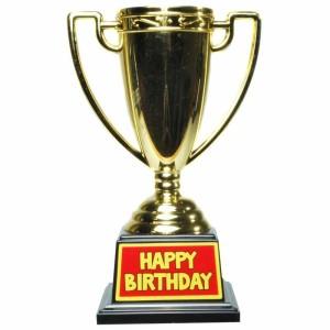 Pokal / Auszeichnung HAPPY BIRTHDAY! Geschenkidee zum Geburtstag