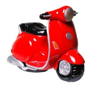 Spardose Motorroller Sparbüchse Roller Geldgeschenk Geschenk