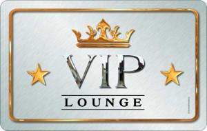 Frühstücksbrettchen VIP LOUNGE, kultiges Schneidebrett / Brettchen aus Resopal