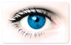 Frühstücksbrettchen Auge, Schneidebrett Brettchen mit einem Auge