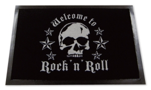 Fußmatte Welcome to Rock n´Roll