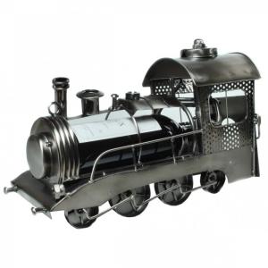 Flaschenhalter Lokomotive Metall Dampflok Eisenbahn