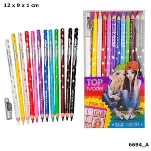 TOP Model Depesche Buntstifte Set 12 Stück Stifte
