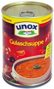 Dosensafe Unox Gulaschsuppe