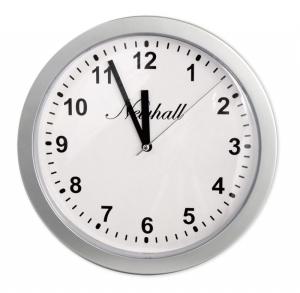 Wanduhr mit Geheimversteck Wall Clock Uhr silber