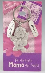 Schlüsselanhänger Schutzengel  Mama Mutter Engel