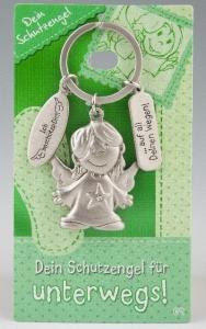 Schlüsselanhänger Schutzengel Engel  unterwegs