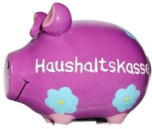 Sparschwein Haushaltskasse Spardose Kaffee Sparbüchse
