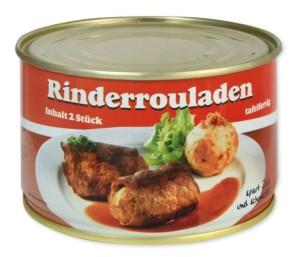Dosenversteck Rotes Band Rinderrouladen