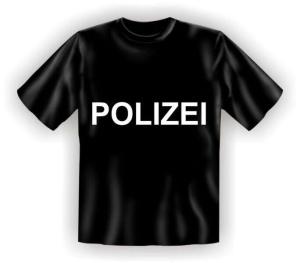 T-Shirt POLIZEI (Größe:: S (42/44))