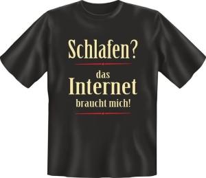 T-Shirt  DAS INTERNET BRAUCHT MICH (Größe:: L (50/52))