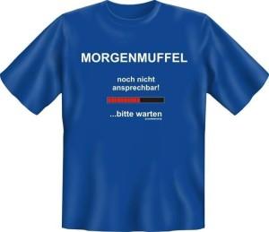 T-Shirt MORGENMUFFEL (Größe:: S (42/44))