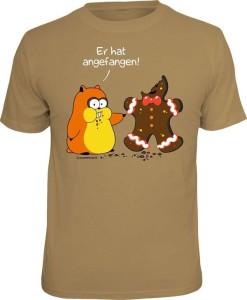 T-Shirt ER HAT ANGEFANGEN (Größe:: S (42/44))