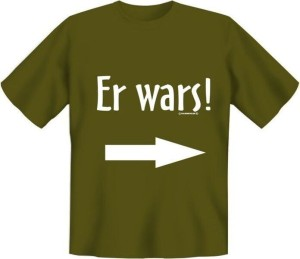 T-Shirt ER WARS (Größe:: S (42/44))