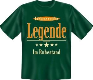 Fun Shirt lebende Legende im Ruhestand T-Shirt Spruch (Größe:: XXL (56))