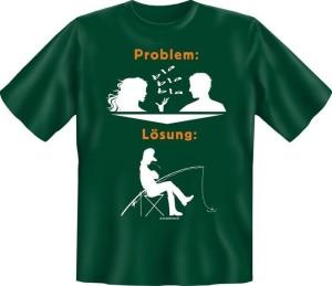 T-Shirt Problem Lösung Angeln (Größe:: XXL (56))