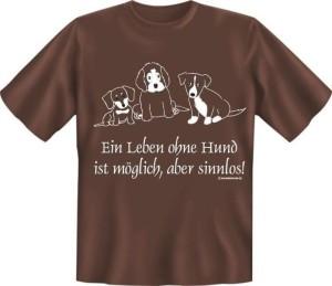T-Shirt  Ein Leben ohne Hund (Größe:: L (50/52))