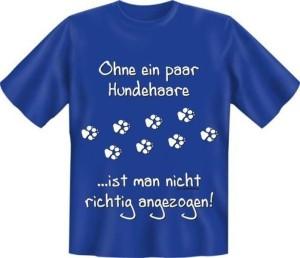 T-Shirt Ohne ein paar Hundehaare (Größe:: L (50/52))