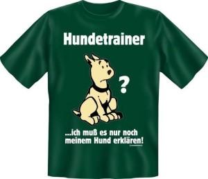 T-Shirt HUNDETRAINER (Größe:: L (50/52))