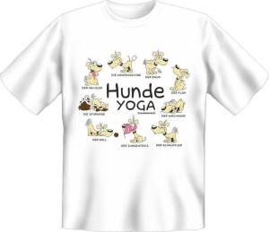 T-Shirt Hunde Yoga (Größe:: L (50/52))