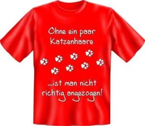 T-Shirt Ohne ein paar Katzenhaare (Größe:: XL (52/54))