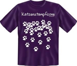 T-Shirt KATZENSTAMPFZONE (Größe:: XL (52/54))
