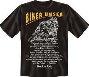 T-Shirt BIKER UNSER (Größe:: L (50/52))