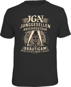 T-Shirt Junggesellenabschiedstour Bräutigam (Größe:: XXL (56))