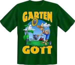 Fun Shirt Gartengott (Größe:: XXL (56))
