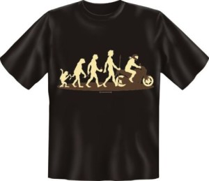 T-Shirt EVOLUTION BIKER MOTORRAD (Größe:: S (42/44))