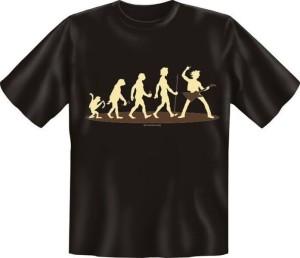 T-Shirt EVOLUTION Gitarrist (Größe:: S (42/44))