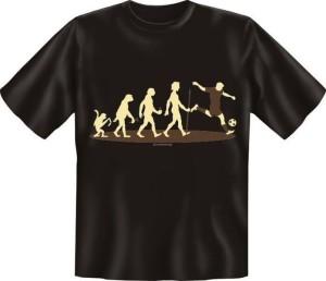 T-Shirt EVOLUTION Fussballer (Größe:: S (42/44))